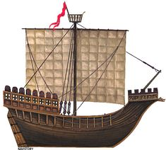 Nef de la Hanse, It is this type of ship that was used by the Hanseatic League in the Baltic, and attacked by members of the Victual Brothers, such as the famous Störtebecker. late 13th to early 14th century