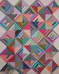Leftover pieces #simplequilt