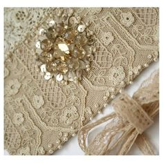 old lace and sequins