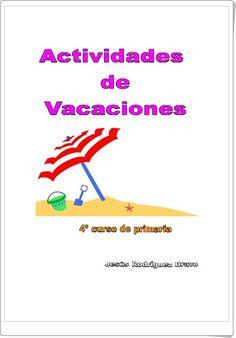 Cuaderno de actividades de vacaciones de Lengua de 4º de Primaria (Jesús Rodríguez Bravo)