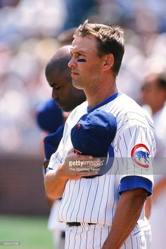 Mark Grace of the Chicago Cubs during the game against the Milwaukee Brewers on June 16, 1998 at Wrigley Field in Chicago, Illinois.