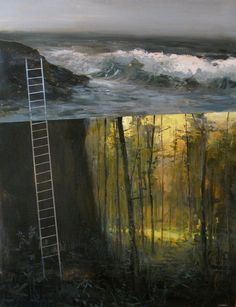 MAINE Artist painter Jeremy Miranda