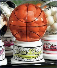 basketball wedding favor~