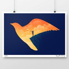 - Dream Big - limited edition signed fine art print by tangyauhoong.com
