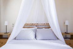 Double bedroom at Aegean View Villas