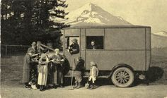 Graham Brothers book truck, Portland, Oregon, 1920s