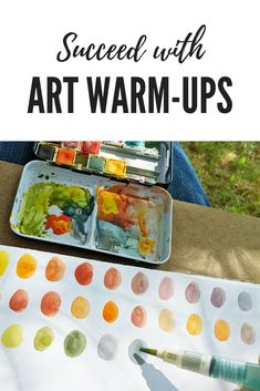 Use these art warm-u