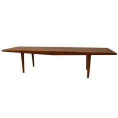 1stdibs | Classic Slat Bench Table