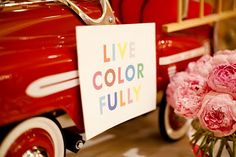 "Words to live by  ""mantra monday: live colorfully, a la kate spade new york."""