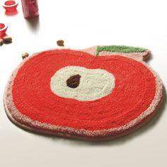 Red Apple Kids Room Rugs