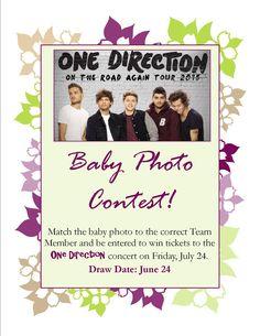 Spring 2015 - Baby Photo Contest!