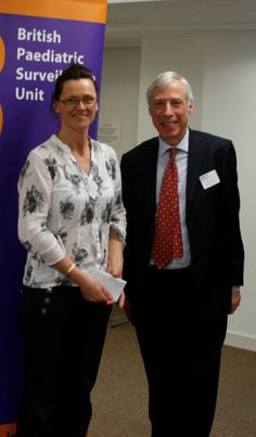 Earl Howe with Su Brimble