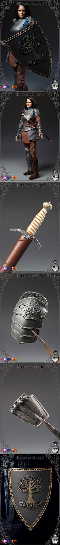 [[예약상품]PLAY TOYS - 1/6 Princess Knight (NO:P012)]