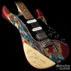 Available at distinctiv… James Tyler Studio Elite Anniversary Burning Water. Available at distinctiveguitar….