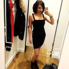 "*NWT*?Express Little Black Dress Beautiful body con black mini dress! Side ""buckles"". Brand new with tags! Never worn. Express Dresses Mini"