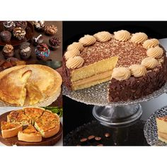 Select Any Of Our Cakes Cupcakes Pies Quiches Or Cheesecakes To Accompany Each Other And Make Your Recipients Day Extra Special