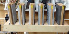 Sanding blocks storage