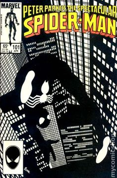 Spectacular Spider-Man (1976 1st Series) 101 Marvel Comics Peter Parker Comic book covers Super Heroes Villians Amazing Astonishing silver bronze modern age