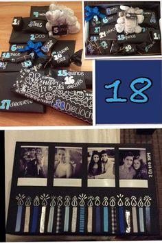 Cumpleaños de mi enamorado! 18 años, 18 regalos <3