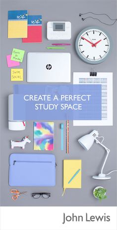 Make your all-important study spot a neatly organised place that encourages focus this term. Introduce clever storage solutions, the right lighting and a personal touch to make a productive work area within your University Halls or Dorm Room.