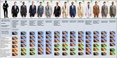 Guys: A handy chart to look at next time you need to suit up.A Visual Guide To Matching Suits And Dress Shoes  Read more: http://www.businessinsider.com/a-visual-guide-to-matching-suits-and-dress-shoes-2014-3#ixzz3F3Xfp8a8