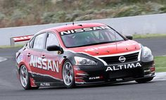 Watch Nissan's V8 Supercar on its inaugural track outing