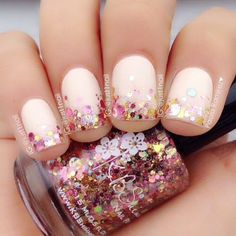 Image about fashion in 🔸Nails🔸 by Sara on We Heart It Great Nails, Fabulous Nails, Perfect Nails, Gorgeous Nails, My Nails, Colorful Nail Designs, Cool Nail Designs, Sparkle Nails, Super Nails