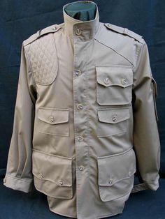 Bush Poplin Cotton Hunter Jacket -pockets galore!!