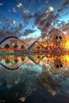 Amazing View of Disneyland, California