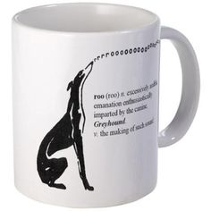 Greyhound Mug/Roo on CafePress.com