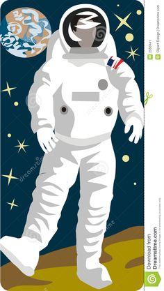 astronaut vector illustration - Google Search