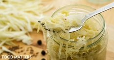 Sauerkraut and other fermented foods are great for building and feeding your healthy gut bacteria. Here's a great, 3 ingredient recipe you can use to make your very own, gut-friendly sauerkraut at home.