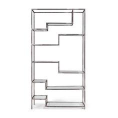 ASPER Regal / Wandregal / Metall / Glas // Shelves / Iron  - NOTORIA