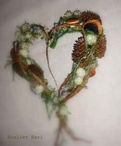 natural decorations and wreaths