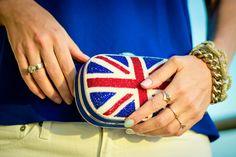 Union Jack clutch