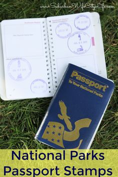 National Parks Passport Stamps is a great program for kids and families to learn Us Road Trip, Road Trip With Kids, Road Trip Hacks, Travel With Kids, Family Travel, Family Vacations, Packing List For Travel, Time Travel, Passports For Kids