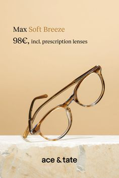 745949636eee7 Update your eyewear for €98 with the Ace   Tate Max Soft Breeze. An