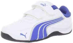 Puma Drift Cat 4 L V Sneaker (Infant/Toddler/Little Kid/Big Kid),White/Olympian Blue/Pumasilver,13 M US Little Kid at http://suliaszone.com/puma-drift-cat-4-l-v-sneaker-infanttoddlerlittle-kidbig-kidwhiteolympian-bluepumasilver13-m-us-little-kid/