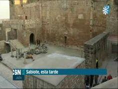RECREACIÓN VIRTUAL EN EL CASTILLO DE SABIOTE - YouTube