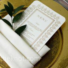 menu & olive branch