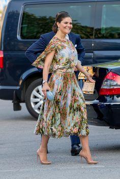 Princess Victoria of Sweden Sweden attends an official dinner at Eric Ericssonhallen on May 29, 2017 in Stockholm, Sweden.