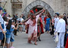 Live theater at The Holy Land Experience