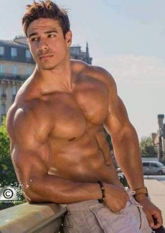 Four muscled hunks play with dudes ass