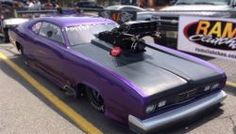 "Lowcountry Wraps Goes ""Plum Crazy"" Purple All Over a Plymouth Duster - Read the article on our website"