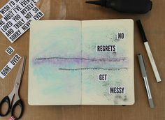 Scrap Savvy Creations | Get Messy |  Get Messy Art Journal