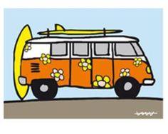Plantilla furgo Volkswagen | Aprender manualidades es facilisimo.com