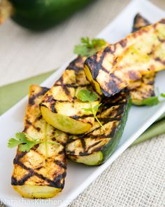 Grilled Squash - Switch things up with Italian or Yellow Squash on the grill if you're not feeling particularly meaty.