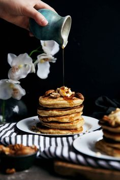 A banana and pineapple match made in heaven, hummingbird pancakes are a delicious update on the classic hummingbird cake.