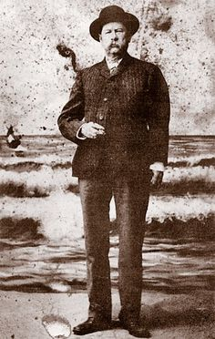 In this photo of Virgil Earp taken after he left Tombstone, Arizona, his left arm hangs useless after being ambushed in December 1881, but fire still flashes in his eyes. He would go on to become a lawman in Nevada, Oregon and California. - Courtesy Jim Earle - via True West Magazine
