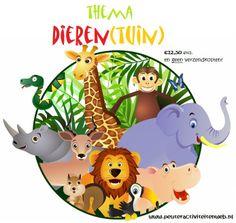 thema Dieren  educatief en creatief thema voor kinderen in de Kinderopvang/Gastouderopvang